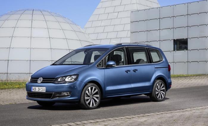 2020 VW Sharan Exterior