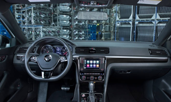2020 VW Sharan Interior