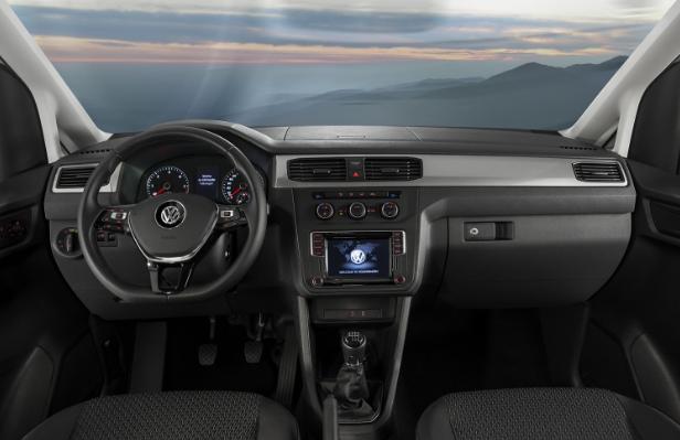 2020 Volkswagen Caddy Interior