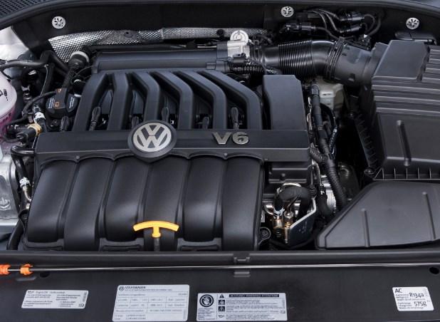 2020 Volkswagen Passat Engine