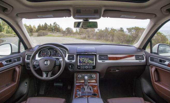 2020 Volkswagen Touareg Interior