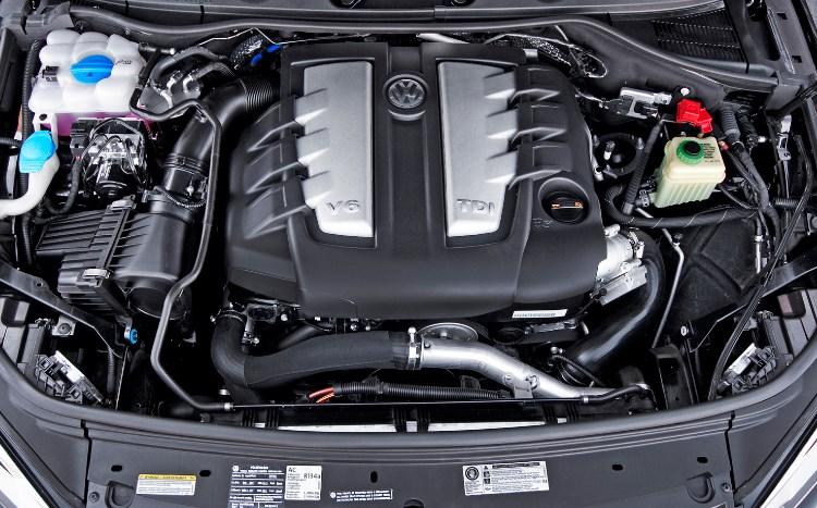 VW Touareg 2020 Engine