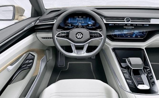 VW Touareg 2020 Interior