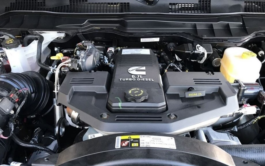 2019 Dodge 2500 Ram Engine