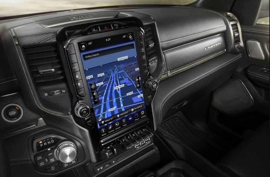 2019 Dodge 3500 Diesel Interior