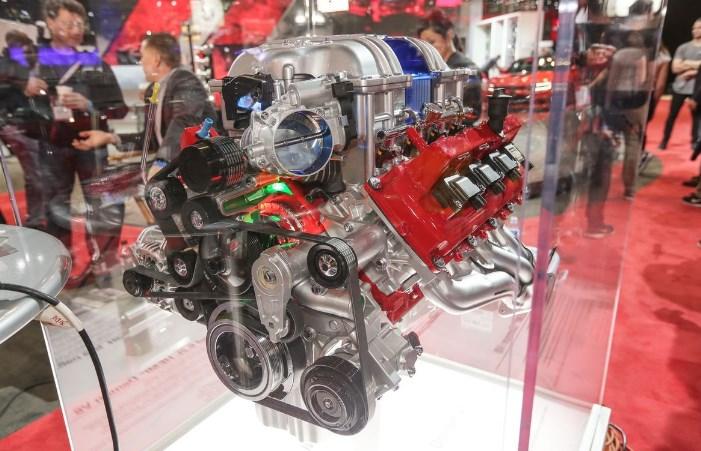 2019 Dodge Challenger Concept Engine