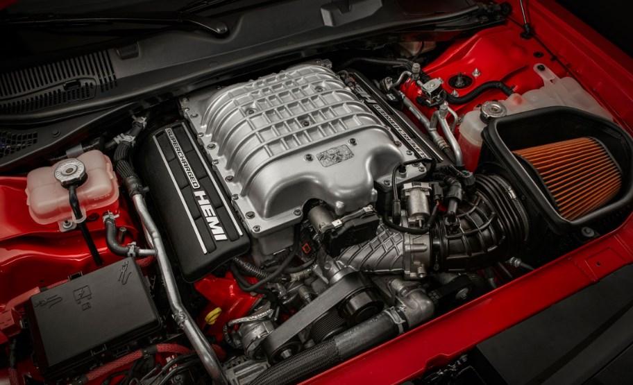 2019 Dodge Challenger Demon Engine