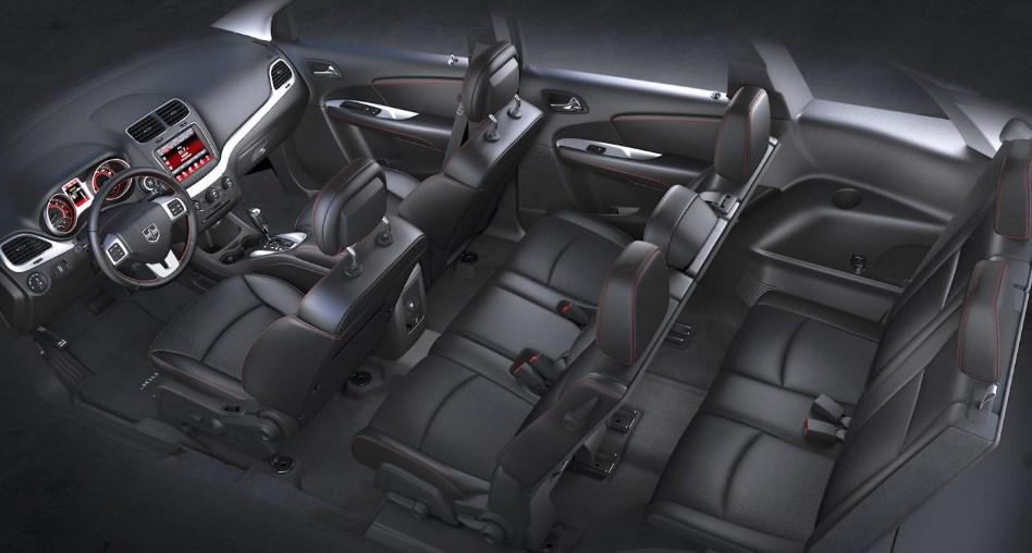 2019 Dodge Journey Crossroad interior