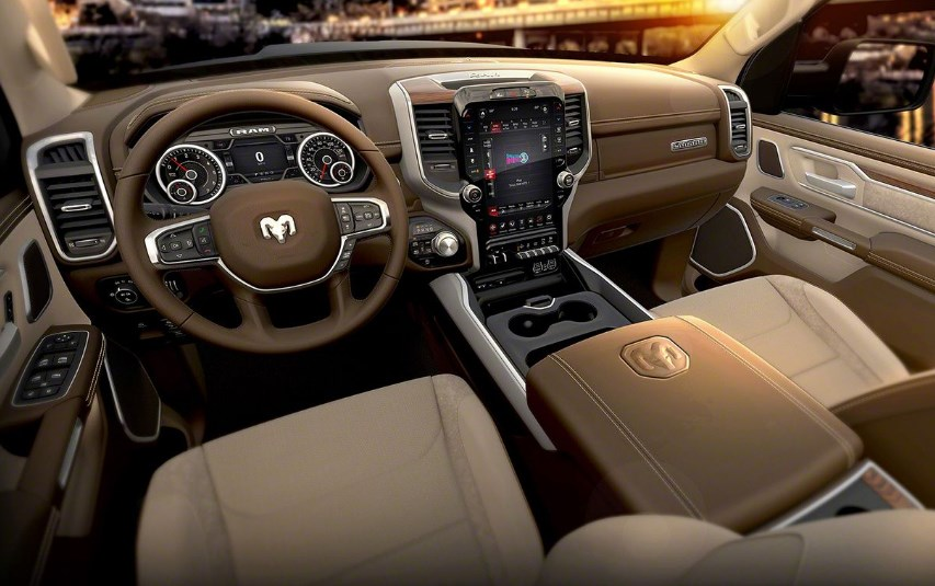 2019 Dodge Pickup Truck Interior