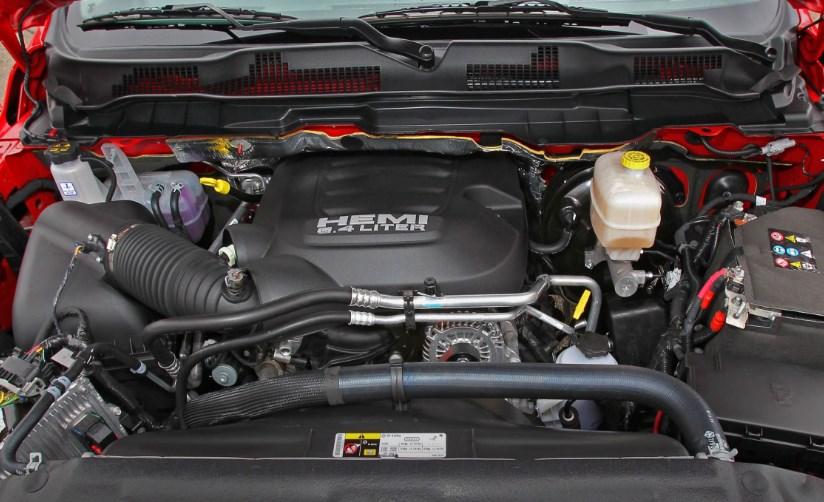 2019 Dodge Power Wagon Engine