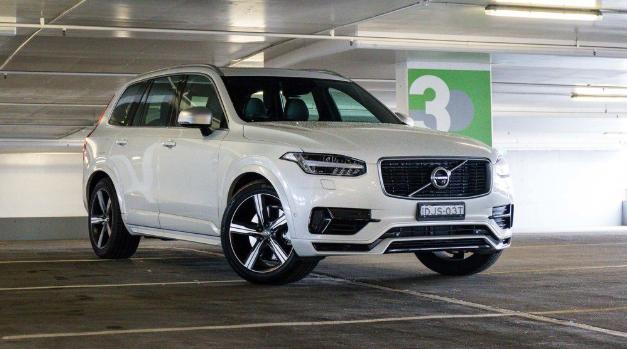 2019 Volvo xc90 exterior