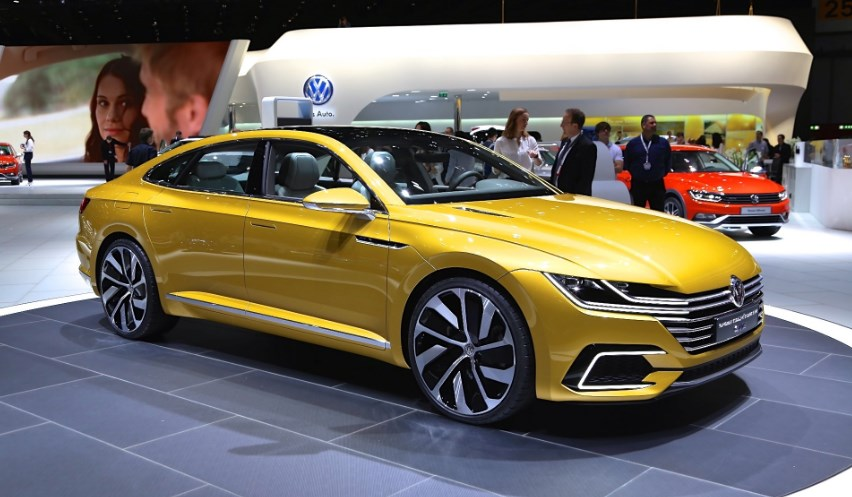 2020 CC VW motor Exterior