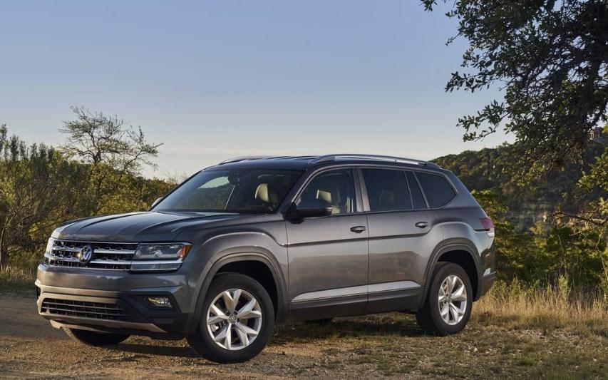 2020 VW Atlas Changes Exterior