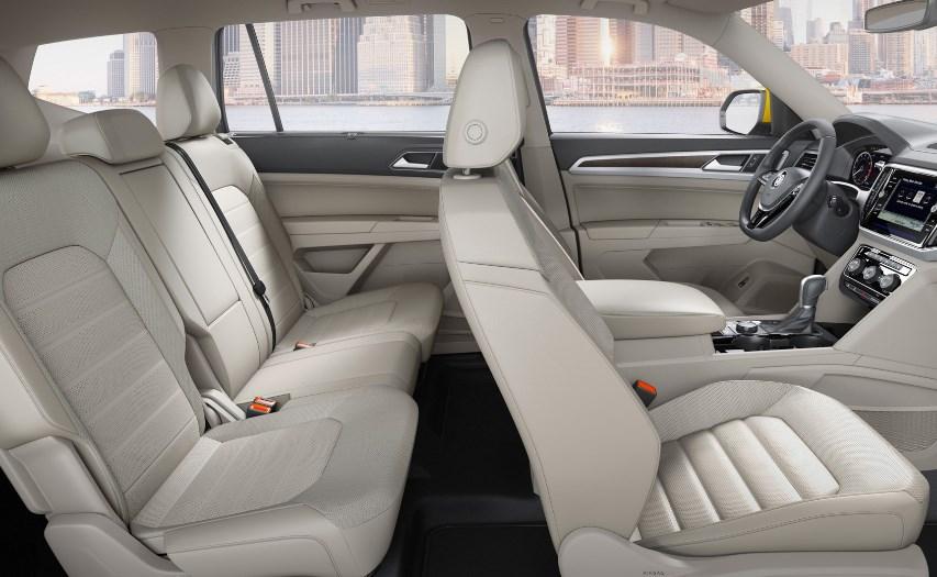 2020 VW Atlas Changes Interior