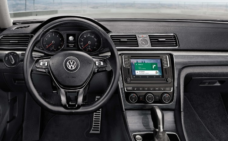 2020 VW CC Interior
