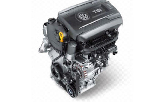 2020 VW Cabrio Engine