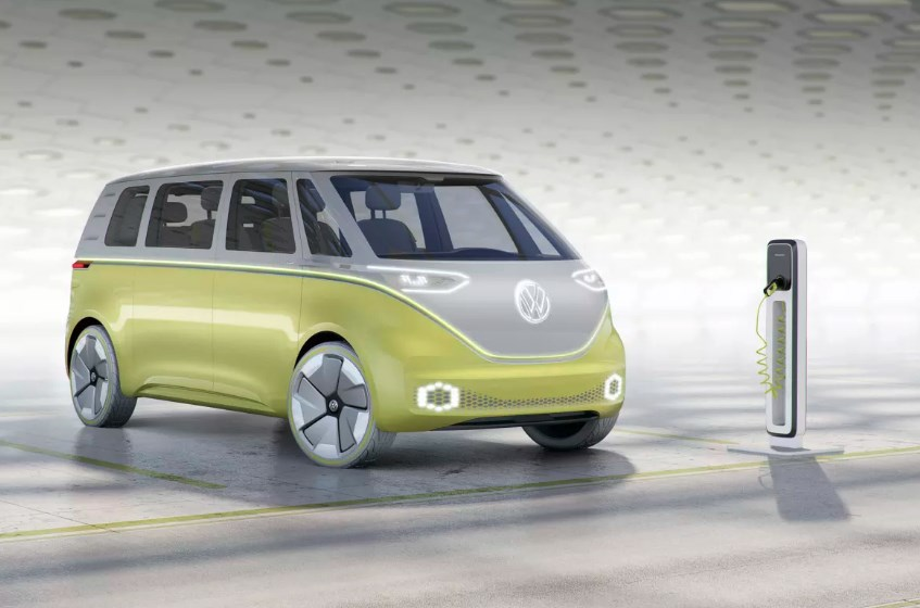 2020 VW Electric Bus Exterior