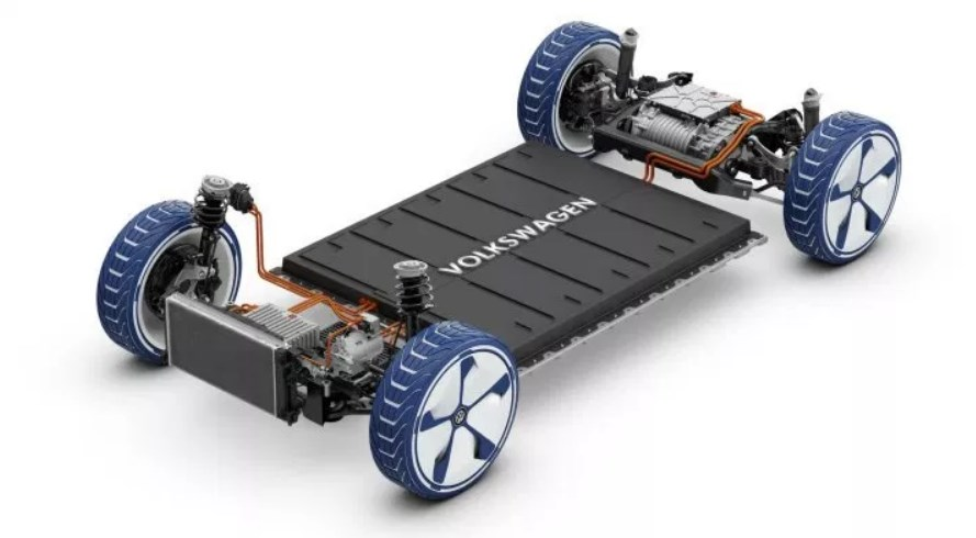 2020 VW Electric Car Engine