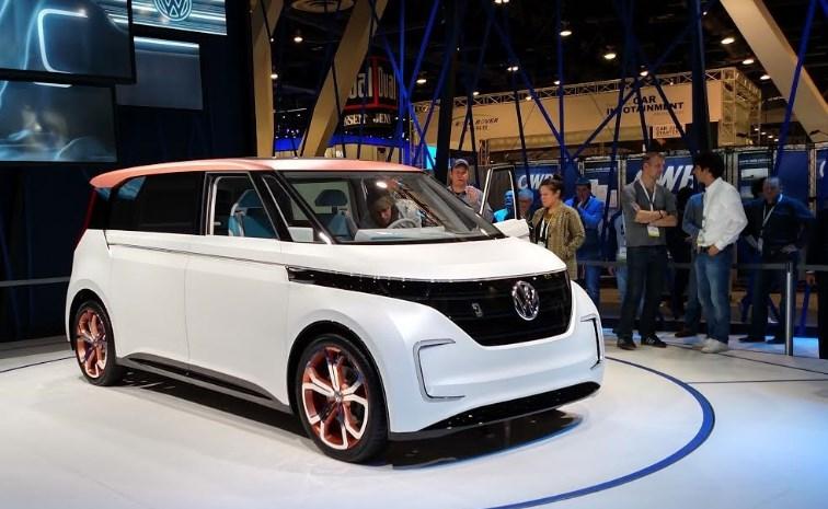 2020 VW Electric Car Exterior