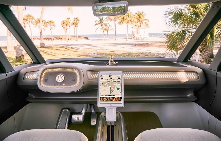 2020 VW Electric Car Interior