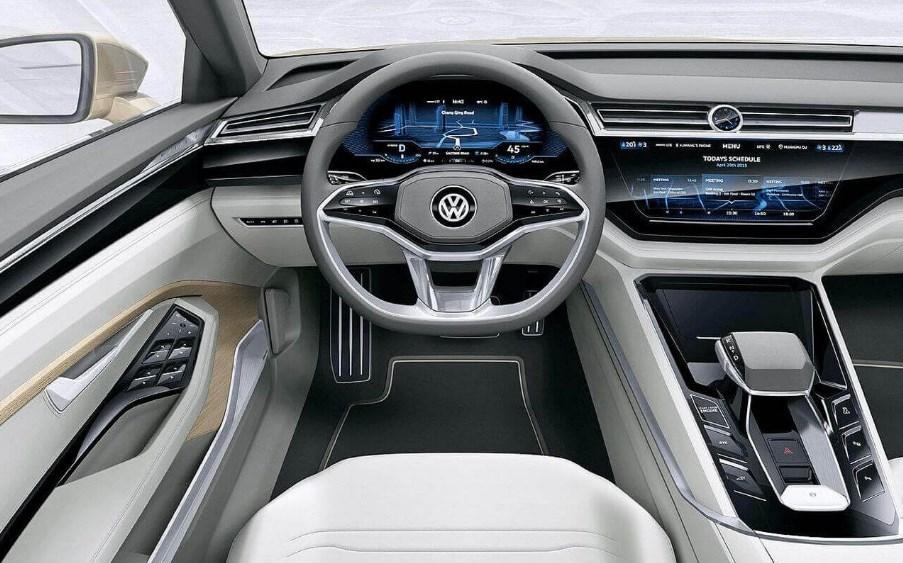 2020 VW Electric Interior