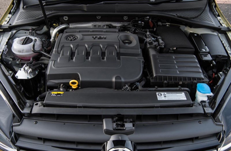 2020 VW Golf SportWagen Engine