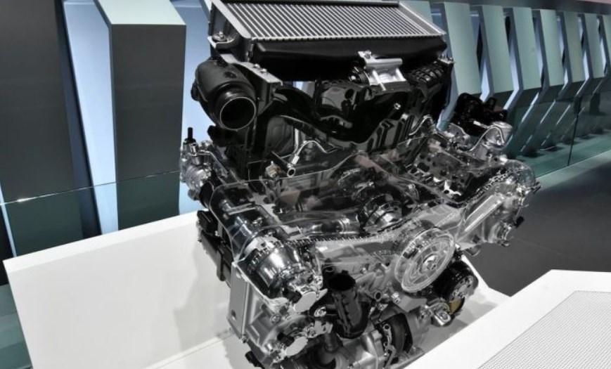2020 VW Pickup Engine