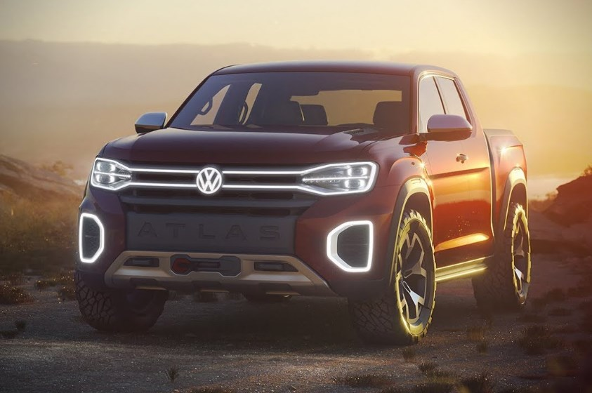 2020 VW Pickup Exterior