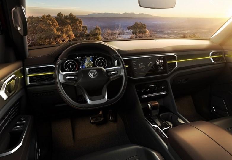 2020 VW Pickup Interior