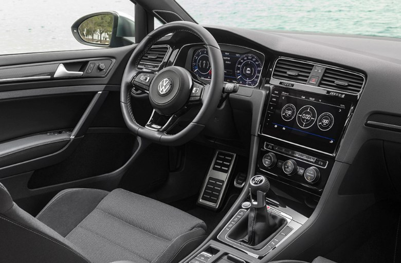 2020 VW R Interior