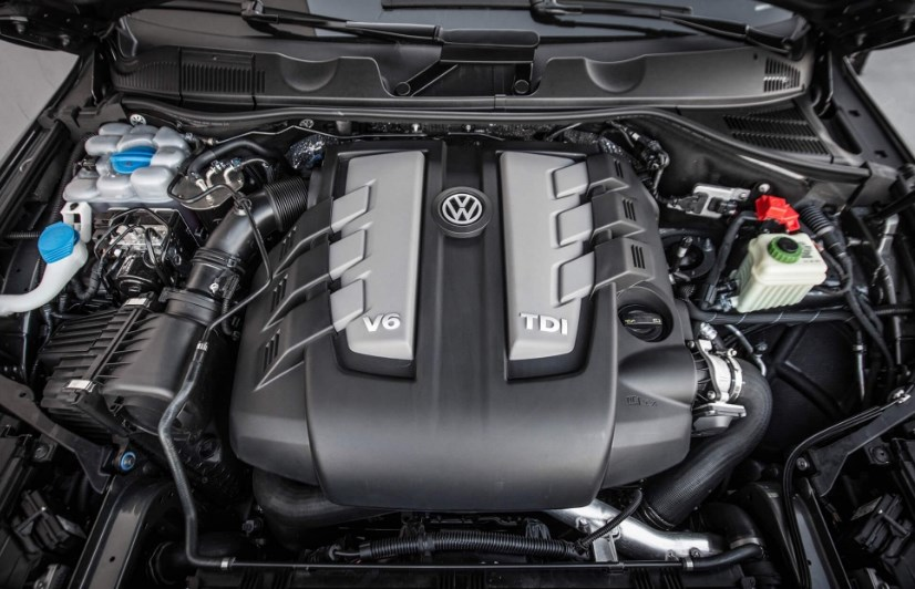 2020 VW Touareg Engine