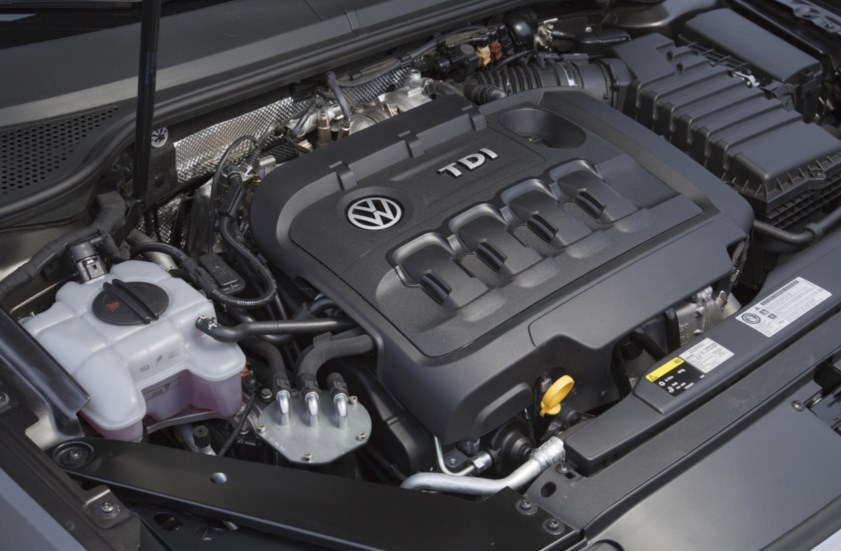 2020 VW Transporter Engine