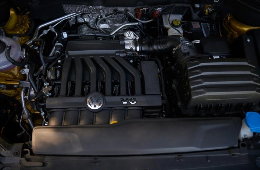 2020 VW Truck Engine