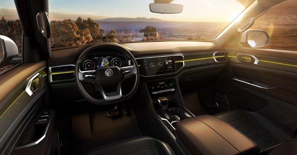 2020 VW Truck Interior