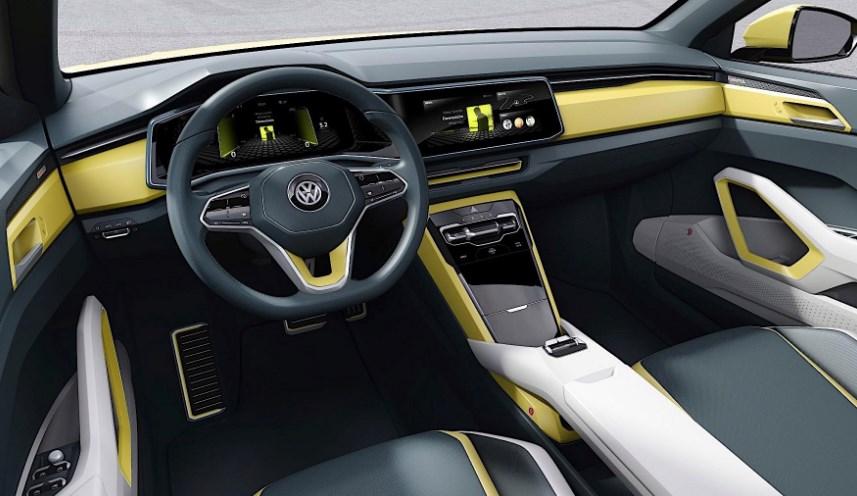 2020 Volkswagen T-Roc Cabrio Interior