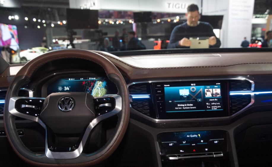 2020 Volkswagen Truck Interior