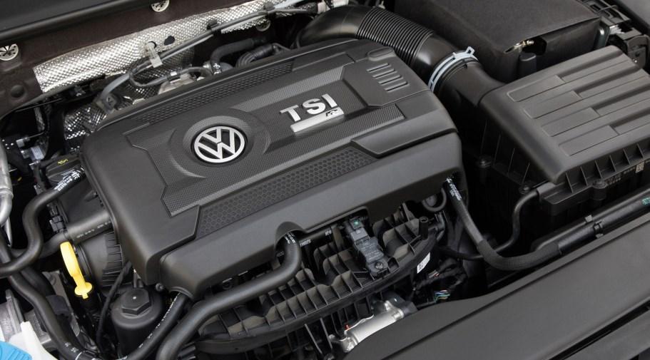 New 2020 VW Golf Engine