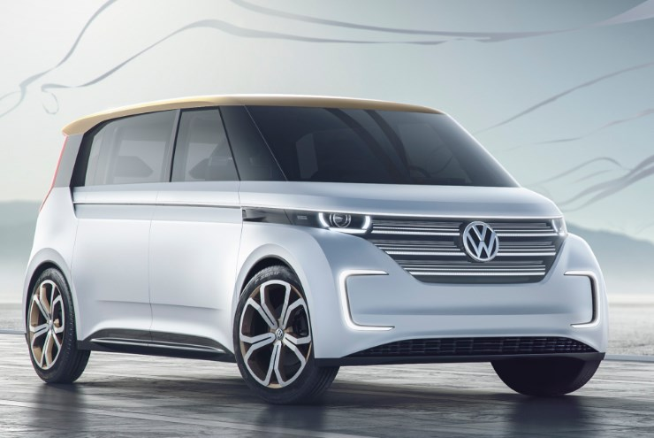 VW 2020 Electric Van Exterior