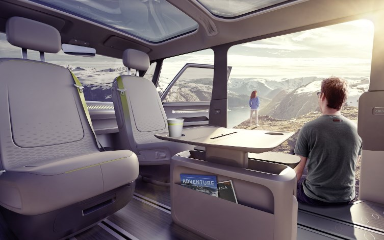 VW 2020 Electric Van Interior