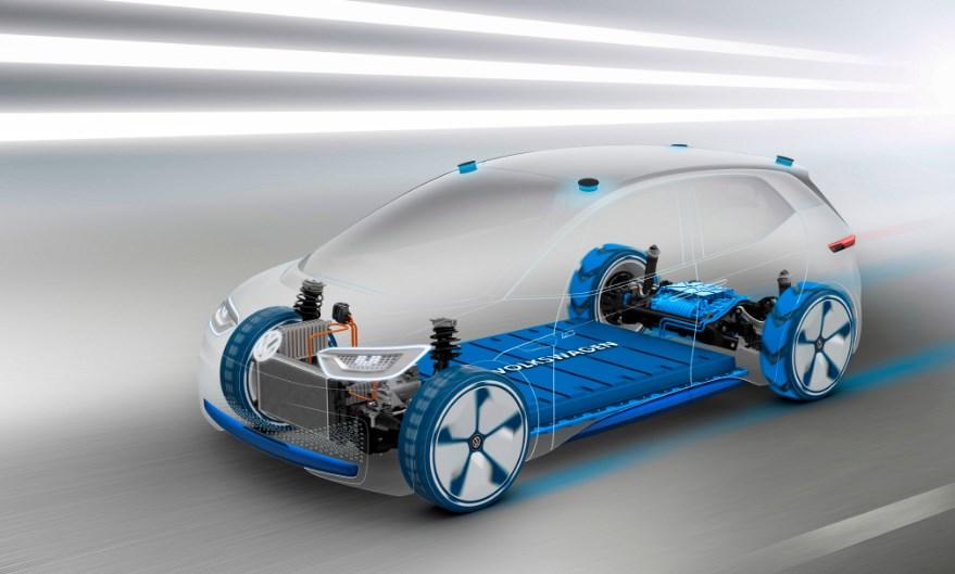 VW 2020 Elektro Engine