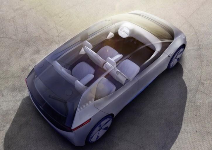 VW Eletrico 2020 Interior