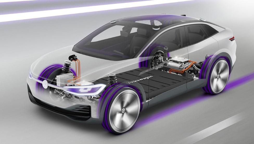 Volkswagen 2020 Electric Car Engine