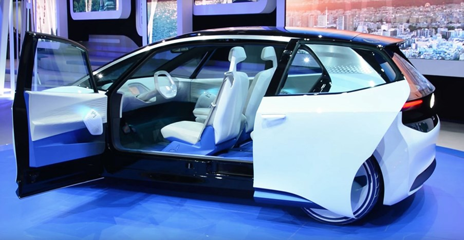 Volkswagen 2020 Electric Car Interior