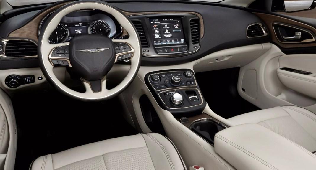 2019 Chrysler 200 Convertible Interior