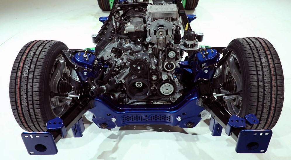 2019 Dodge 1500 Diesel Engine