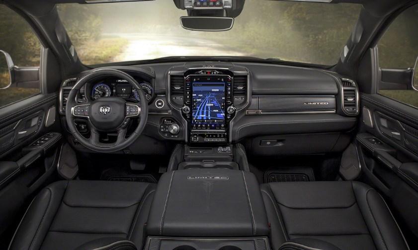 2019 Dodge 1500 Diesel Interior
