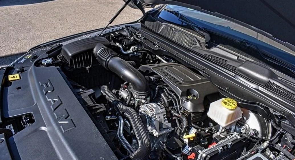 2019 Dodge 1500 Longhorn Engine