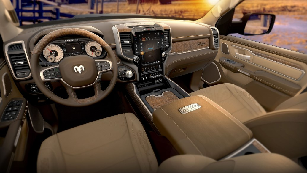 2019 Dodge 1500 Longhorn Interior
