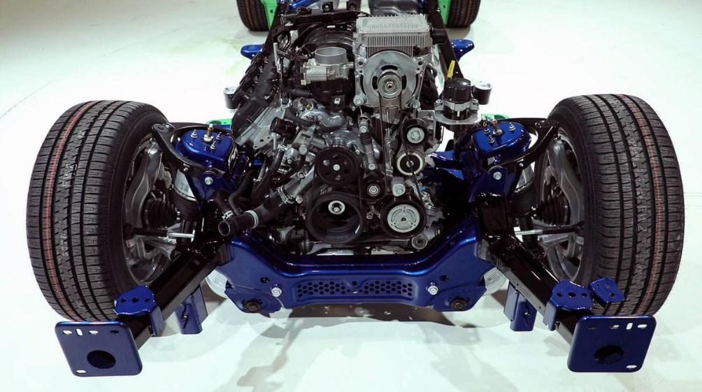 2019 Dodge 1500 Truck Engine