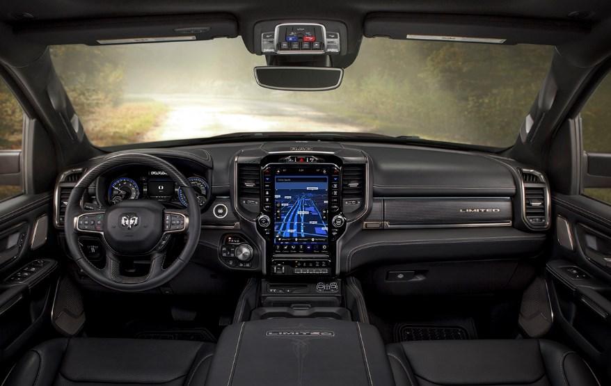 2019 Dodge 1500 Truck Interior